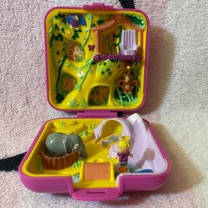 Bluebird Vintage Polly Pocket 1989 Wild Zoo World
